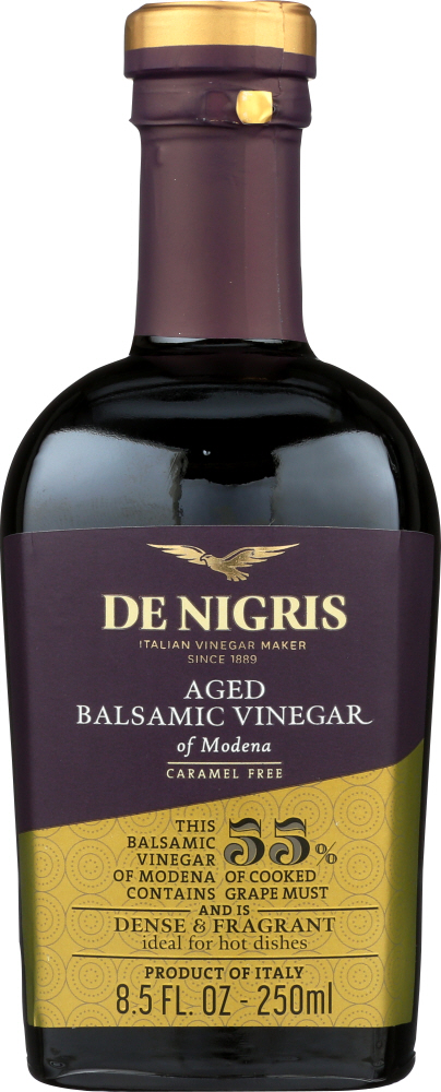 DE NIGRIS: Aged 3 Years Vinegar Balsamic, 8.5 oz