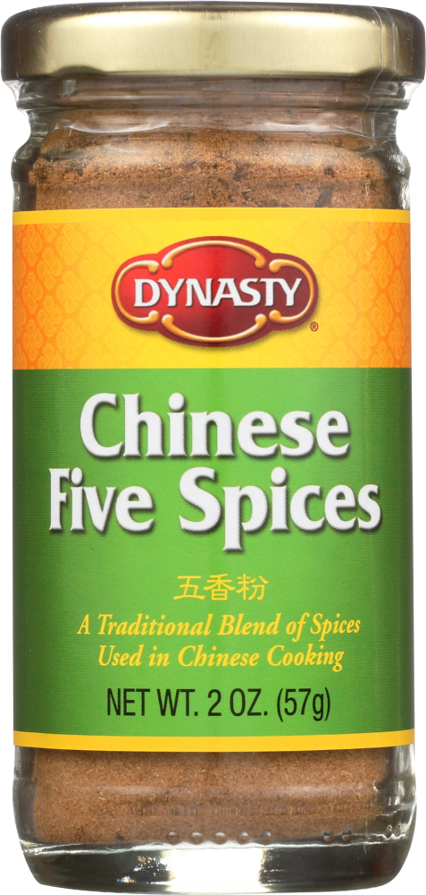 DYNASTY: Chinese Five Spices Seasoning, 2 oz