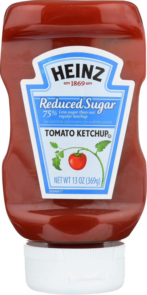HEINZ: Ketchup Reduced Sugar, 13 oz