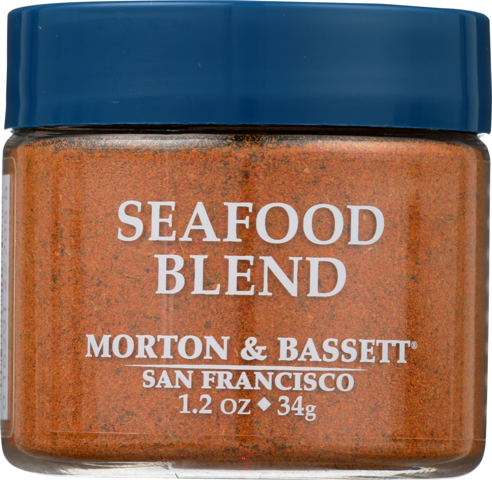 MORTON & BASSETT: Seafood Blend Seasoning, 1.2 oz