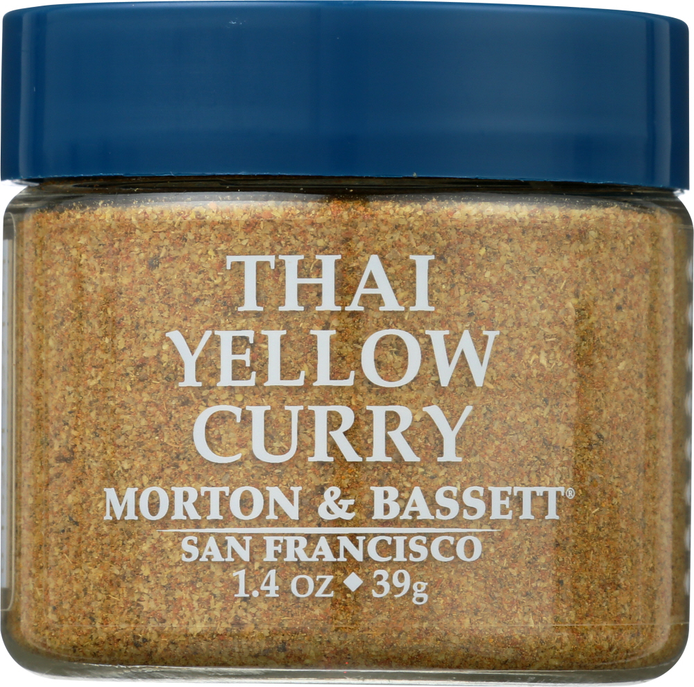 MORTON & BASSETT: Thai Yellow Curry Seasoning, 1.4 oz