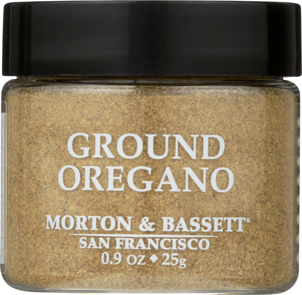 MORTON & BASSETT: Ground Oregano Seasoning, 0.9 oz