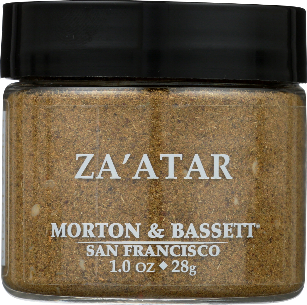 MORTON & BASSETT: Zaatar Seasoning, 1 oz