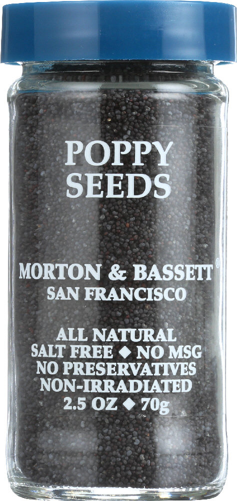MORTON & BASSETT: Poppy Seeds, 2.5 oz