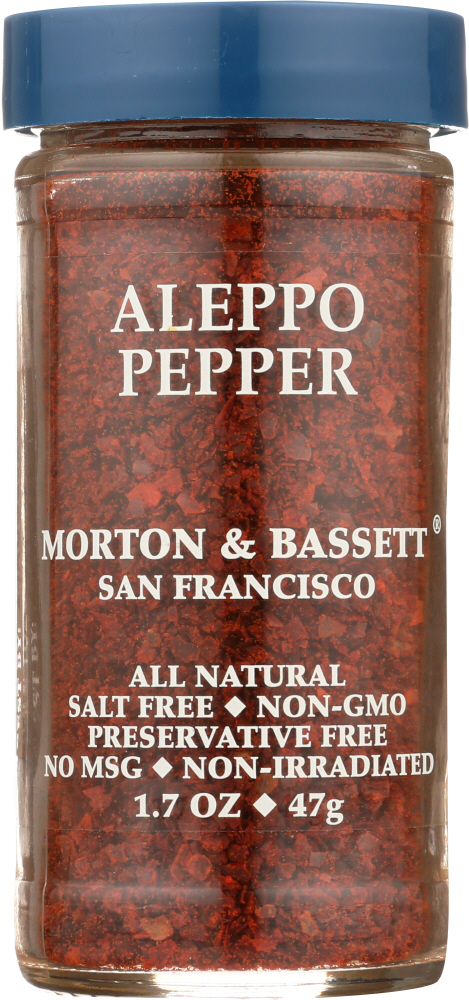 MORTON & BASSETT: Aleppo Pepper, 1.7 oz