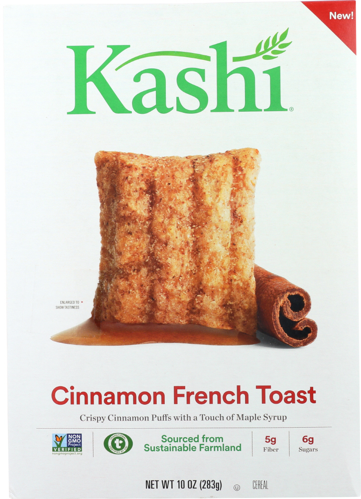 KASHI: Cinnamon French Toast Cereal, 10 oz