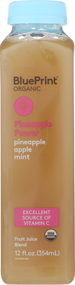 BLUEPRINT: Pineapple Power Juice, 12 oz