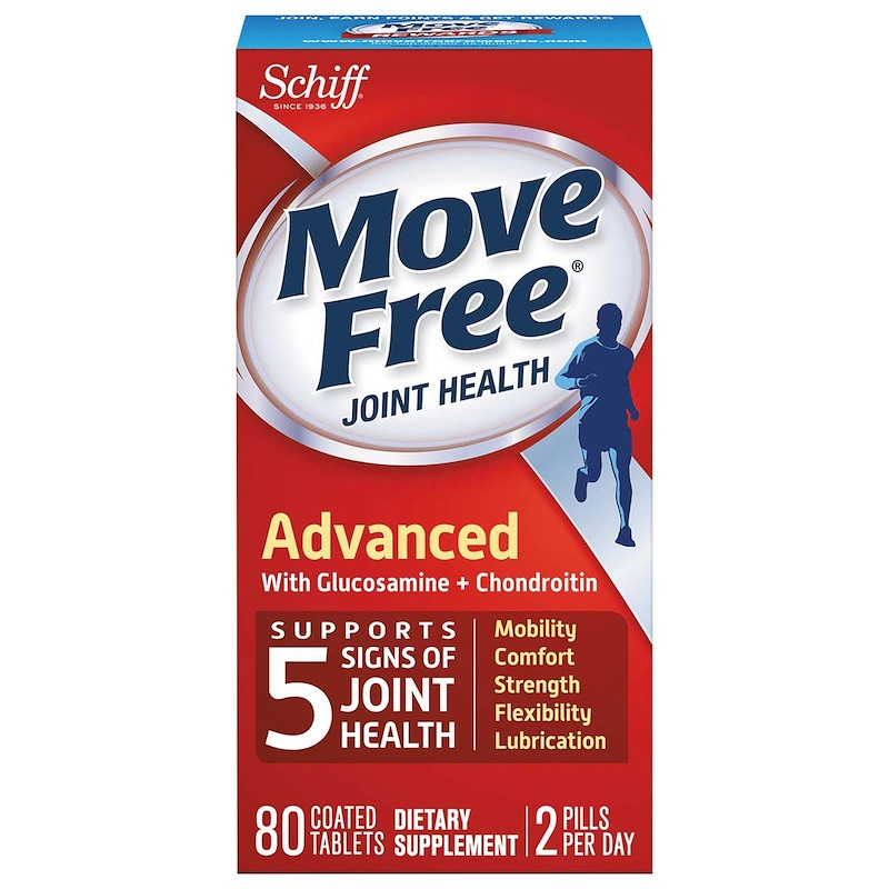 SCHIFF BIO FOODS: Move Free Advanced Joint Health, 80 tb
