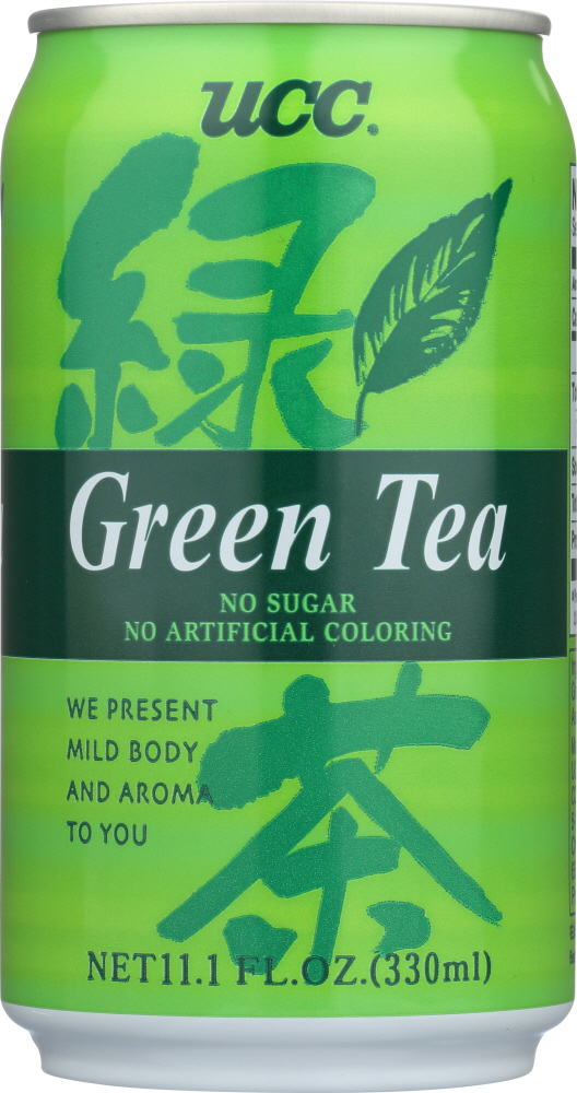 UCC: Green Tea Can, 11.1 fl oz