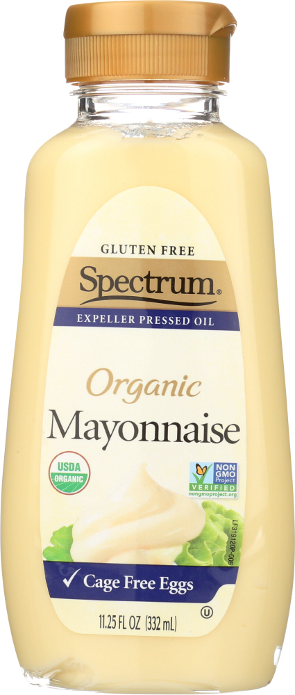SPECTRUM NATURALS: MAYONNAISE SOY SQZ ORG (11.250 OZ)