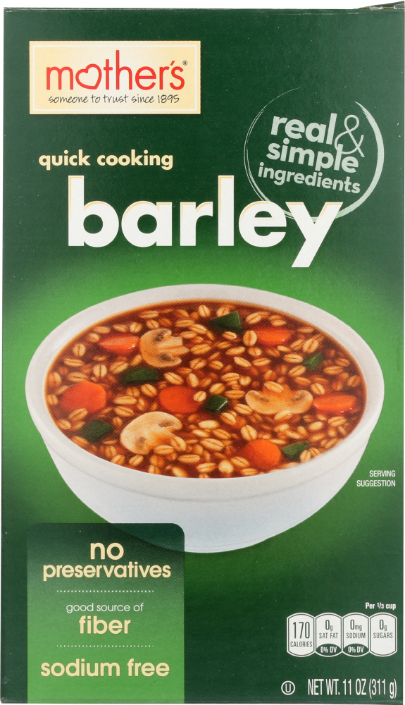 MOTHERS: Cereal Barley Quick, 11 oz