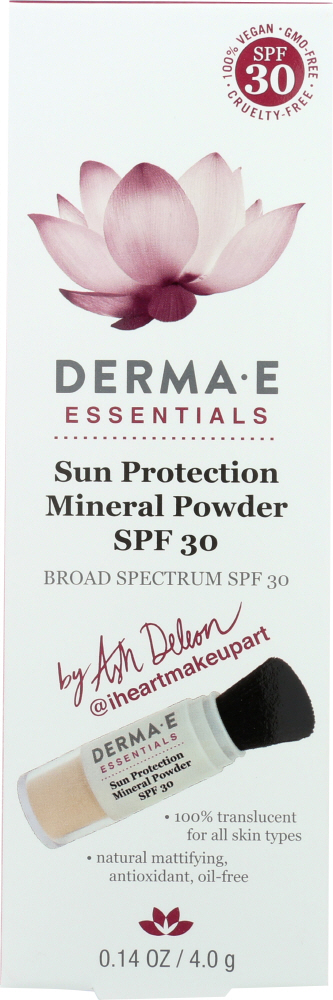 DERMA E: Sun Protect Mineral Powder, 0.14 oz
