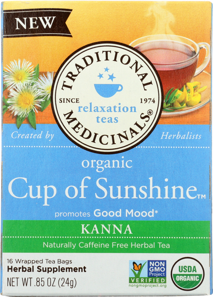 TRADITIONAL MEDICINALS: Tea Cup Of Sunshine, .85 oz
