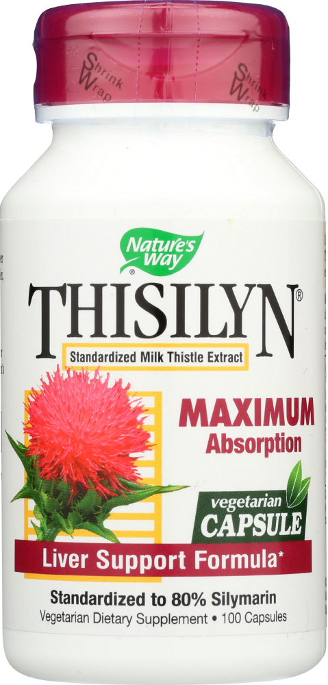 NATURES WAY: Thisilyn Liver Support Formula, 100 Vcap