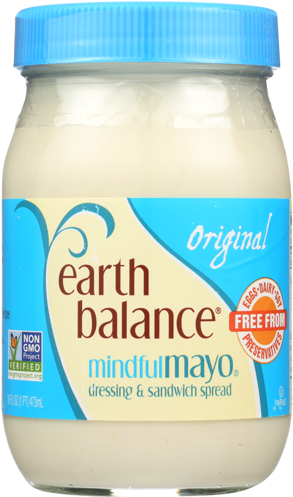 EARTH BALANCE: Original Mindful Mayo Dressing, 16 oz