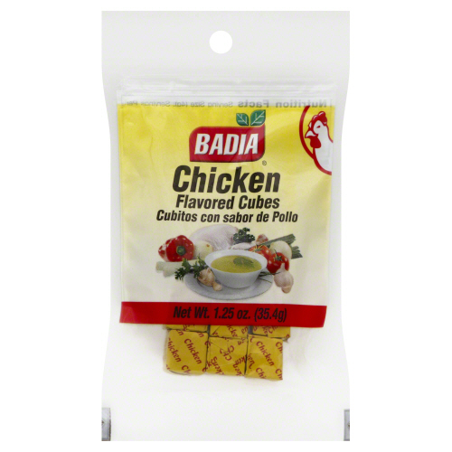 BADIA: Chicken Powdered Cubes Bouillon, 1.25 oz