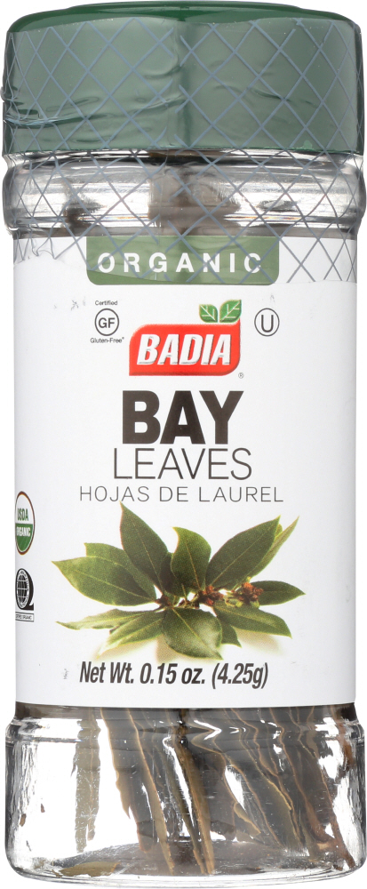 BADIA: Bay Leaves Organic, 0.15 oz