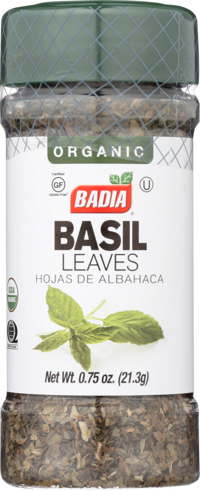 BADIA: Basil Leaves Organic, 0.75 oz