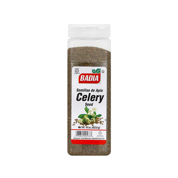 BADIA: Celery Seed Whole, 16 oz