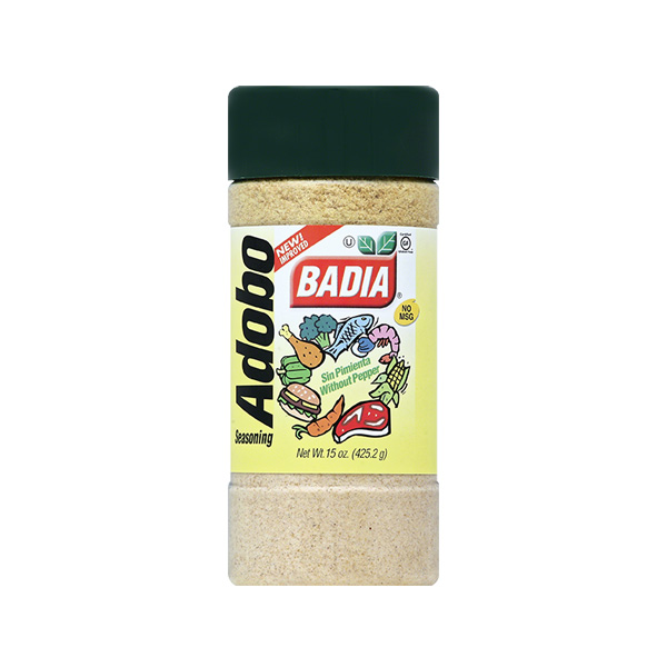 BADIA: Adobo Without Pepper, 15 oz