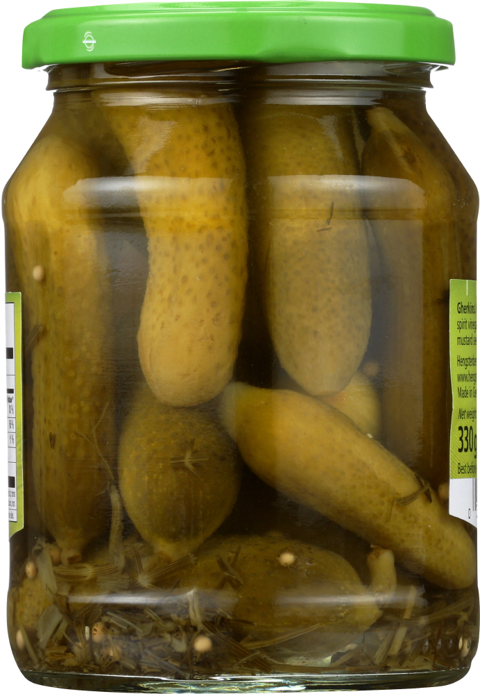 HENGSTENBERG: Pickle Knax Mini Crunchy Gherkins, 12.5 oz