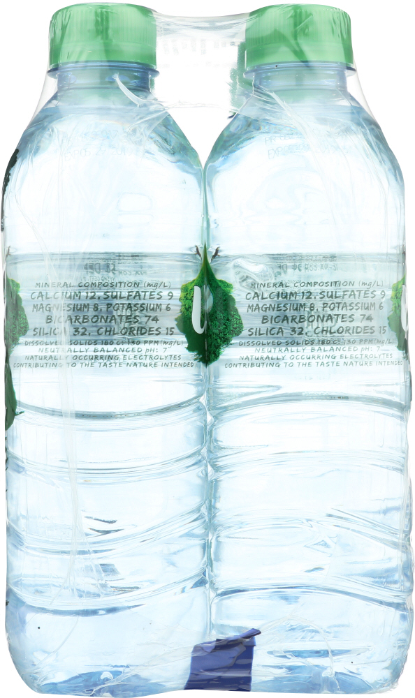 VOLVIC: Natural Spring Water 6 Pack, 0.5 lt