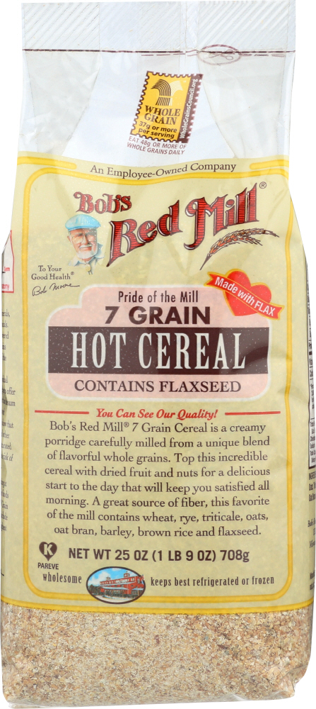 BOBS RED MILL: Cereal 7 Grain Hot, 25 oz