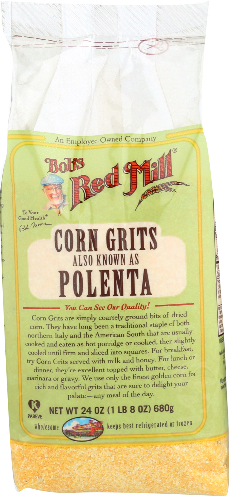 BOBS RED MILL: Corn Grits Also Known As Polenta, 24 oz