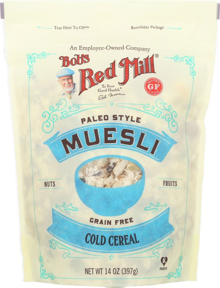 BOBS RED MILL: Paleo Style Muesli Cereal, 14 oz