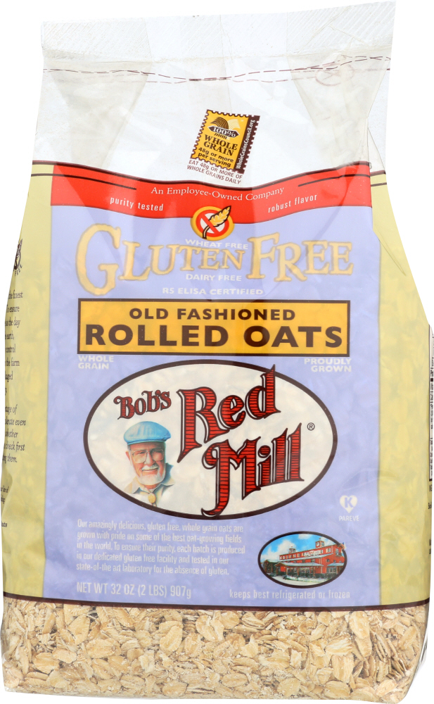 BOB'S RED MILL: Gluten Free Old Fashioned Rolled Oats, 32 oz