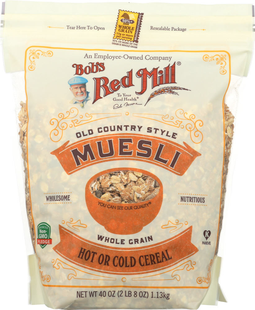 BOBS RED MILL: Old Country Style Muesli, 40 oz