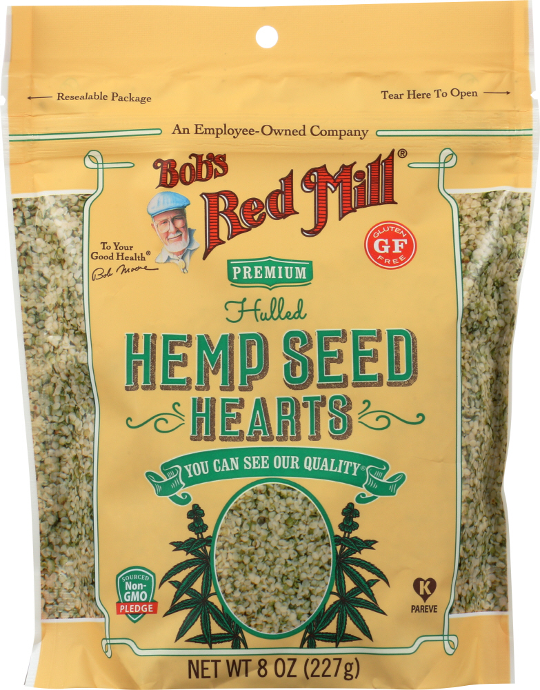 BOBS RED MILL: Hulled Hemp Seed Hearts, 8 oz