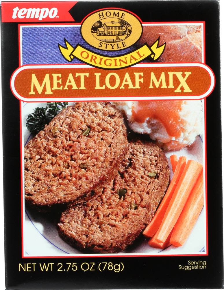 TEMPO: Mix Seasoning Meatloaf, 2.75 oz