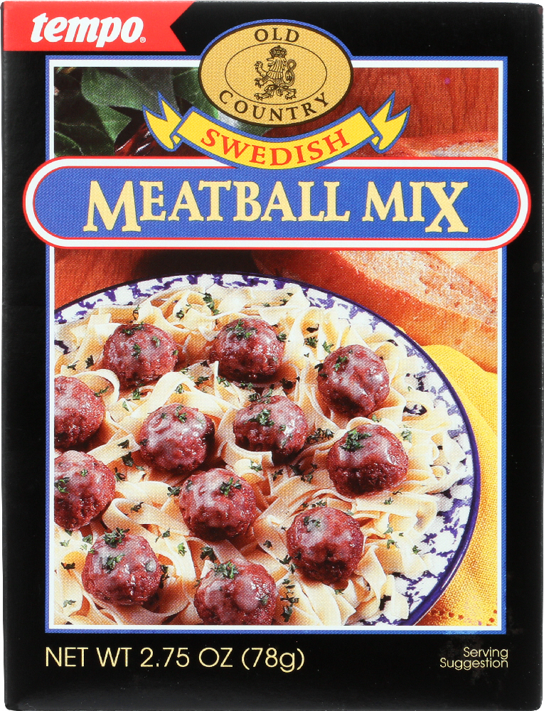TEMPO: Mix Seasoning Meatball Swedish, 2.75 oz