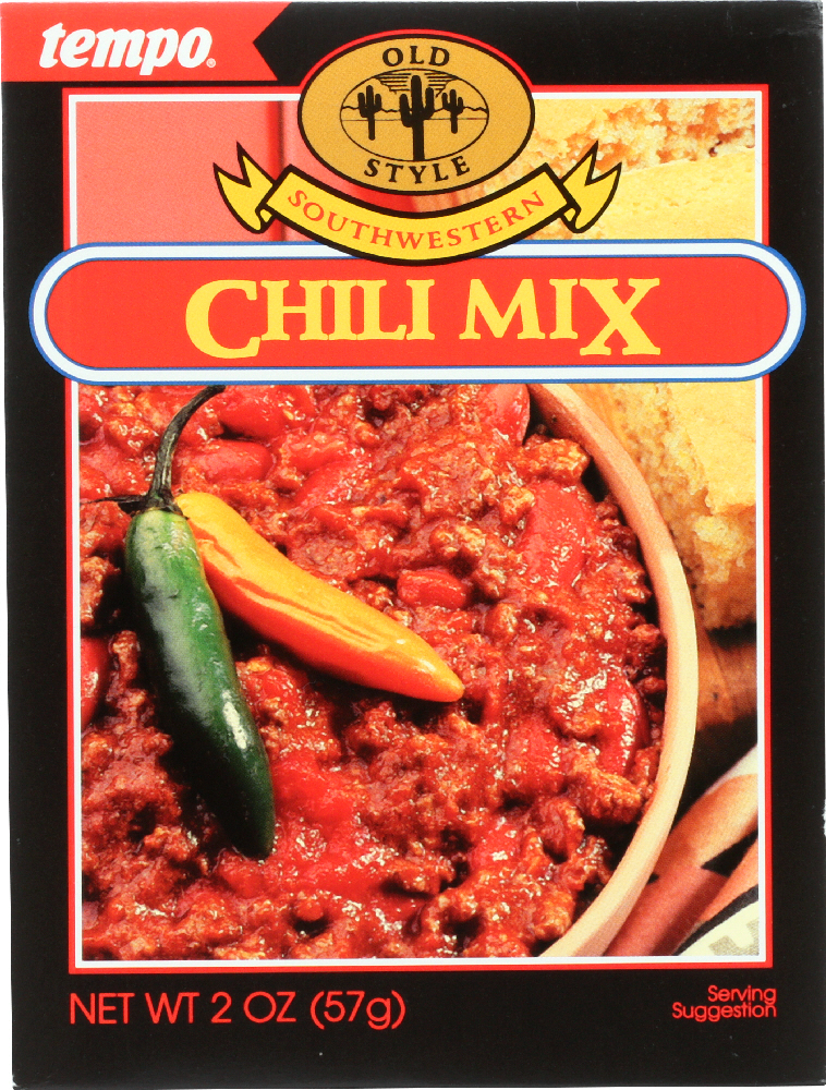 TEMPO: Mix Seasoning Chili, 2 oz