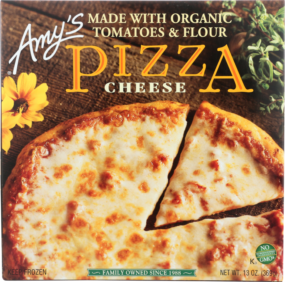 AMY'S: Cheese Pizza, 13 oz