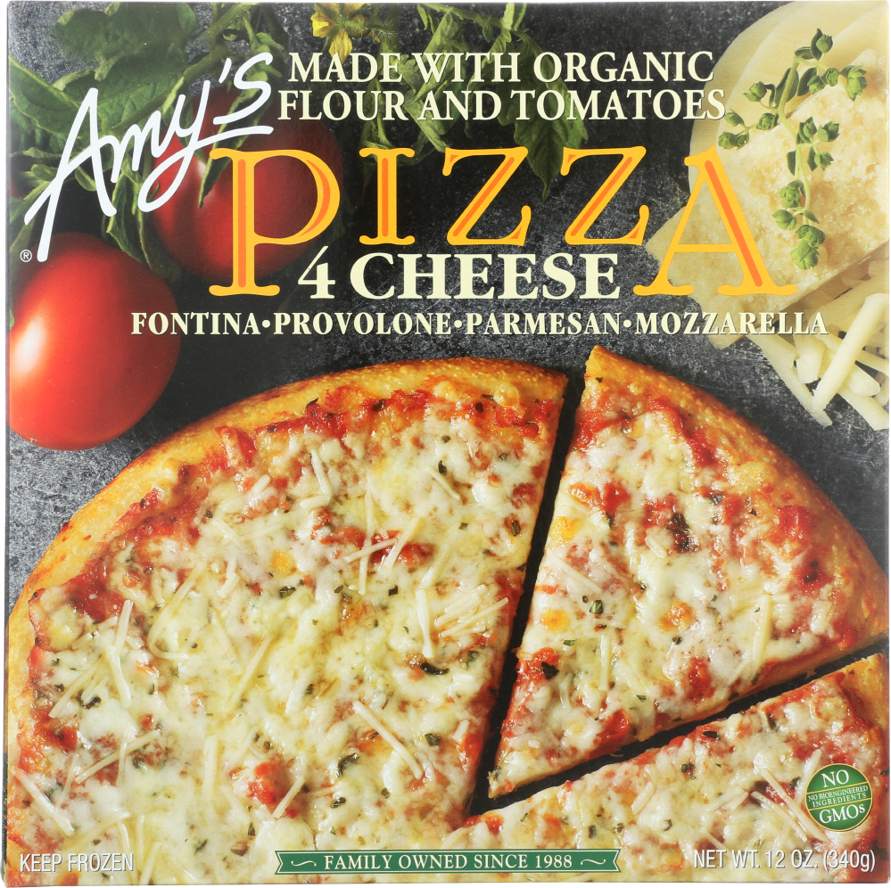 AMY'S: Four Cheese Pizza, 12 oz