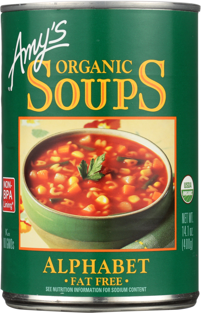 AMYS: Soup Alphabet, 14.1 oz