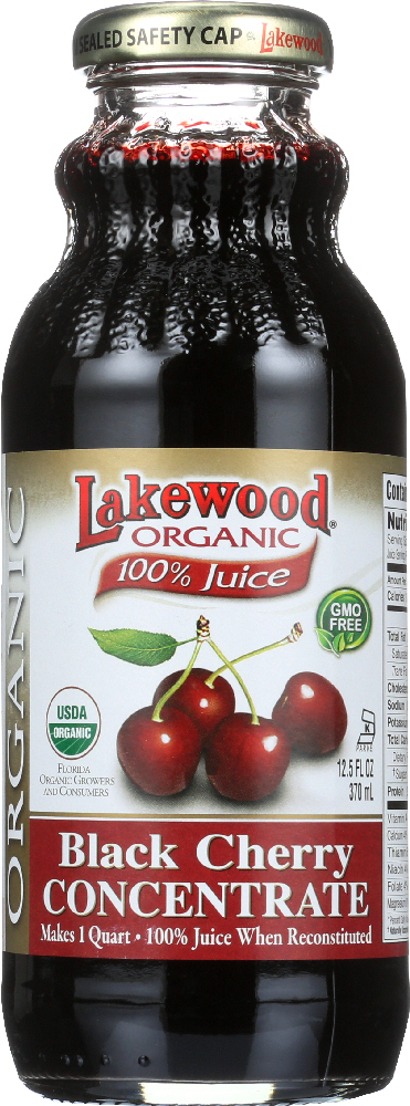 LAKEWOOD: Juice Concentrate Black Cherry, 12.5 fo