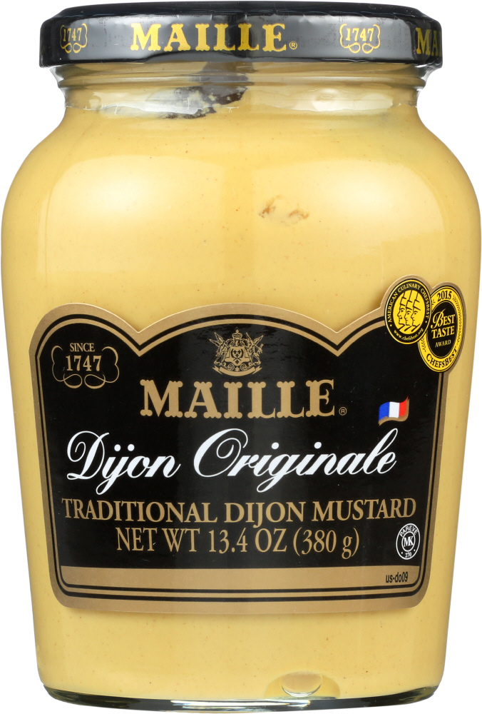 MAILLE: Traditional Dijon Originale Mustard, 13.4 oz