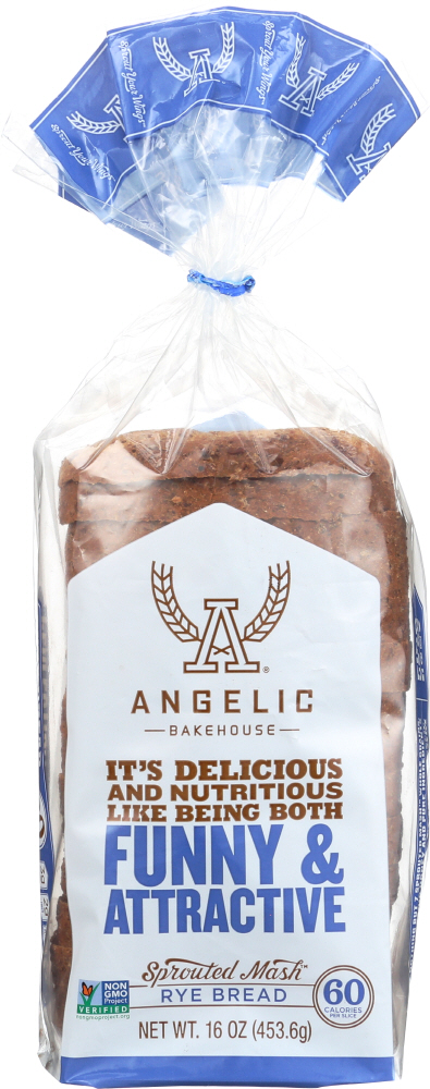 ANGELIC BAKEHOUSE: Sprouted Rye Bread, 16 oz