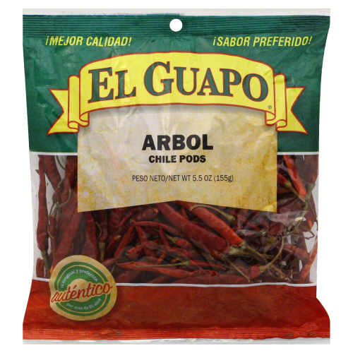 EL GUAPO: Spice Chili De Arbol Whole, 5.5 oz