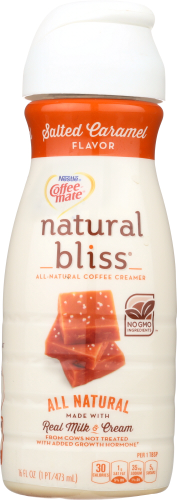 NESTLE: Coffeemate Natural Bliss Salted Caramel Creamer, 16 fo