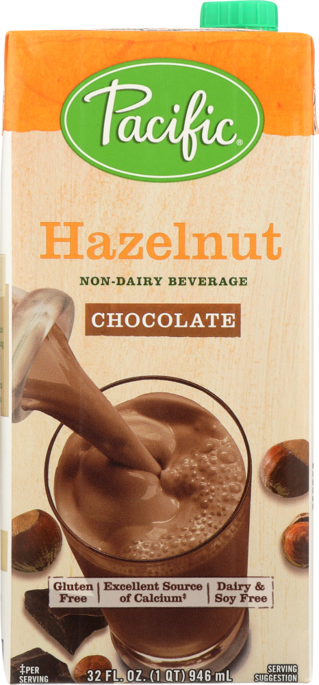 PACIFIC FOODS: Hazelnut Chocolate Beverage, 32 fl oz