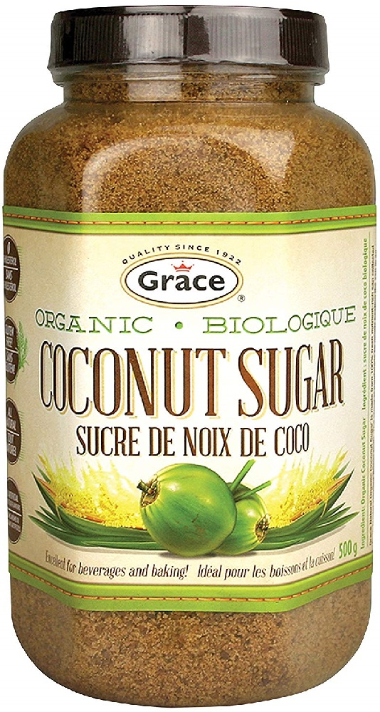 GRACE CARIBBEAN: Coconut Sugar Organic, 500 gm