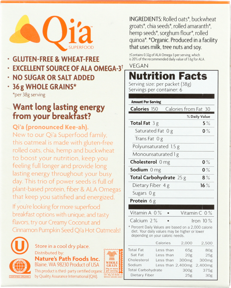 QIA: Superseeds & Grains, 8 oz