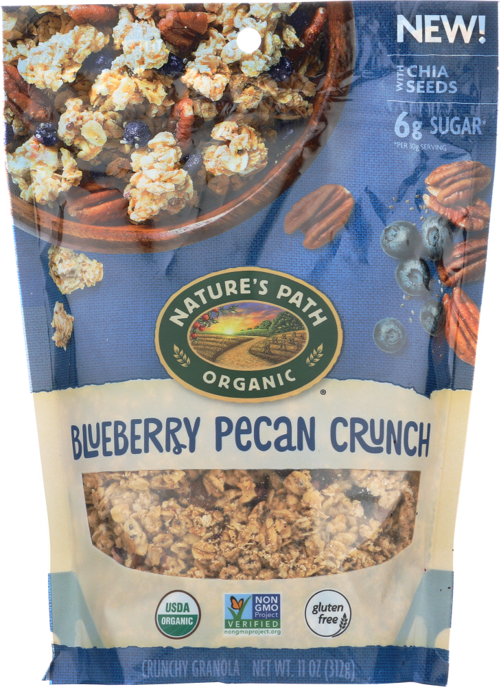 NATURES PATH: Blueberry Pecan with Chia Granola, 11 oz