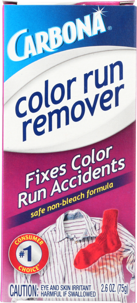 CARBONA: Color Run Remover, 2.6 oz