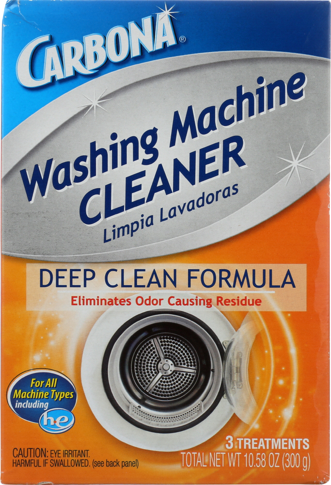 CARBONA: Washing Machine Cleaner Deep Clean Formula, 10.58 oz