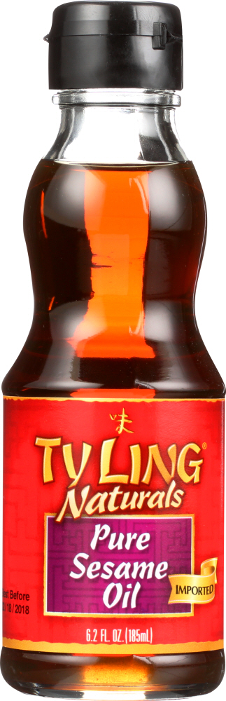 TY LING: Naturals Imported Pure Sesame Oil, 6.2 Oz